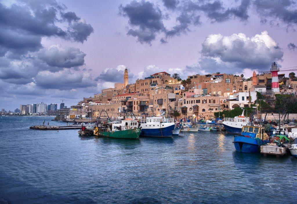 jaffa, port, israel