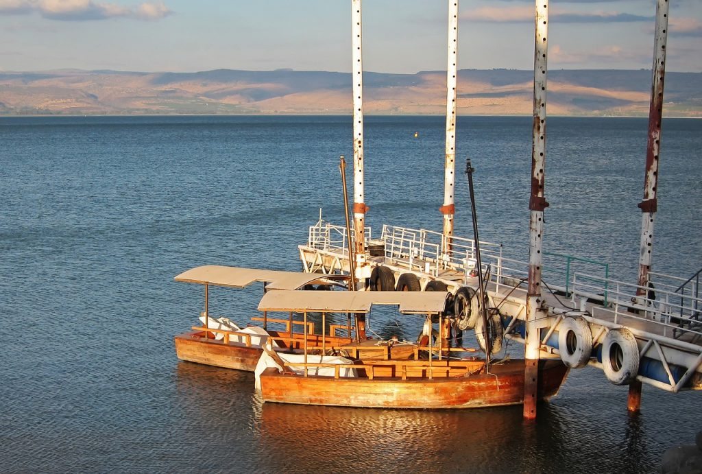 israel, sea of galilee, ginosar