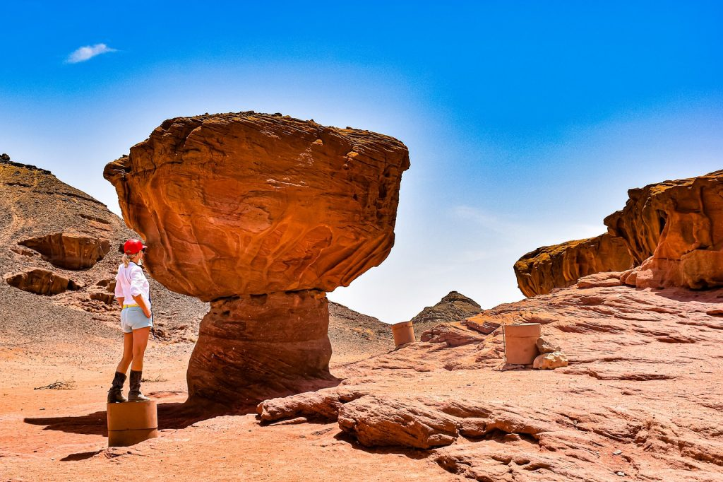timna park, israel, earth hour