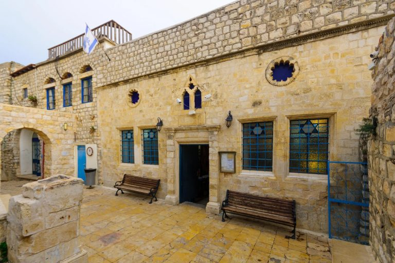 La Sinagoga Ashkenazi, en el barrio judío, en Safed (Tzfat), Israel © RnDmS / Alamy Stock Photo