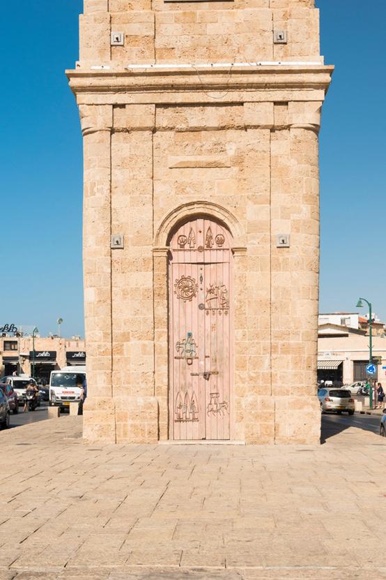 Torre del Reloj de Jaffa construida en 1901