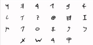 Alfabeto Hebreo Antiguo