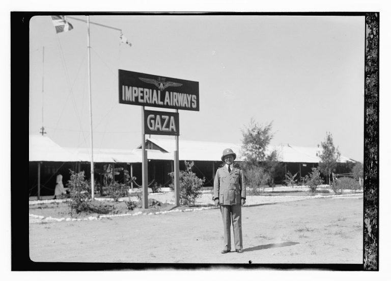 Aeropuerto de la Imperial Airways - Ciudad de Gaza