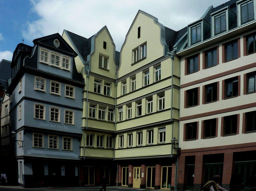 frankfurt, new old town frankfurt, historic center