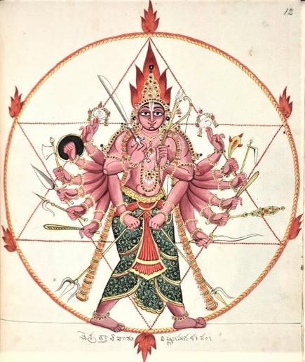 Hexagrama en el hinduismo