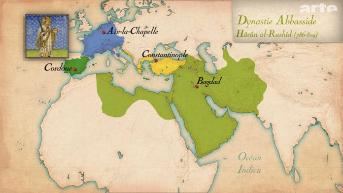 Alianza entre Carlomagno y Harún Al-Rashid