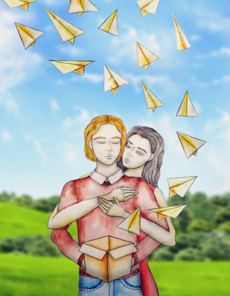 paper airplanes, paper plane, dreams