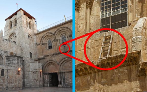 La escalera hoy - Jorge Láscar, Flickr, Wikipedia / Seetheholyland.net, Wikipedia / ChurchPOP