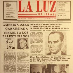 La Luz de Israel - Diario en Ladino
