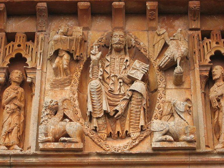 Pantocrator y tetramorfos