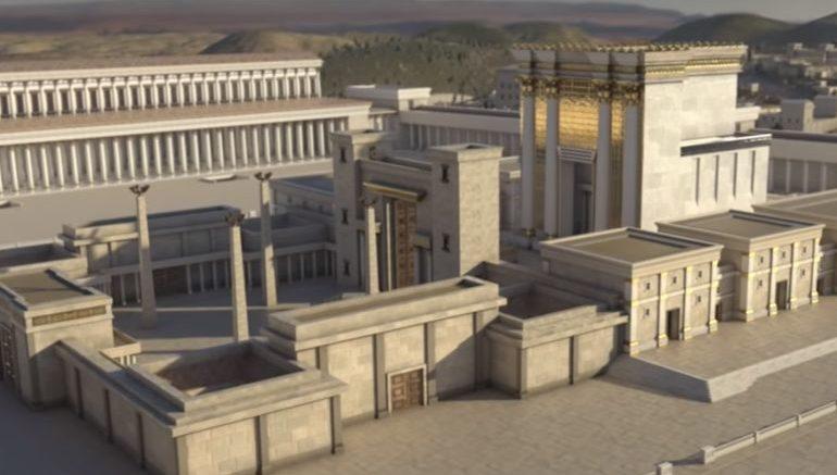 Reconstruccion del Segundo Templo por Herodes