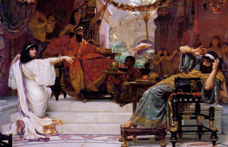 Ester Denunciando a Haman
